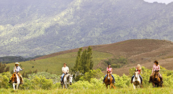 Horseback Ride on Princeville Kauai