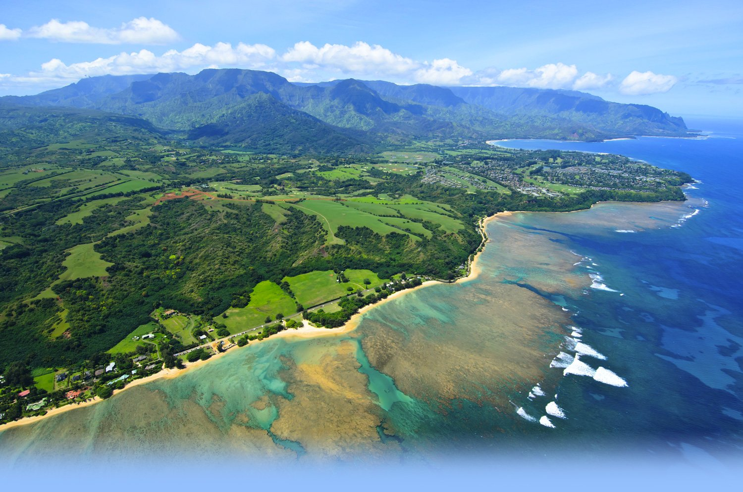 Location to Princeville at Hanalei Kauai